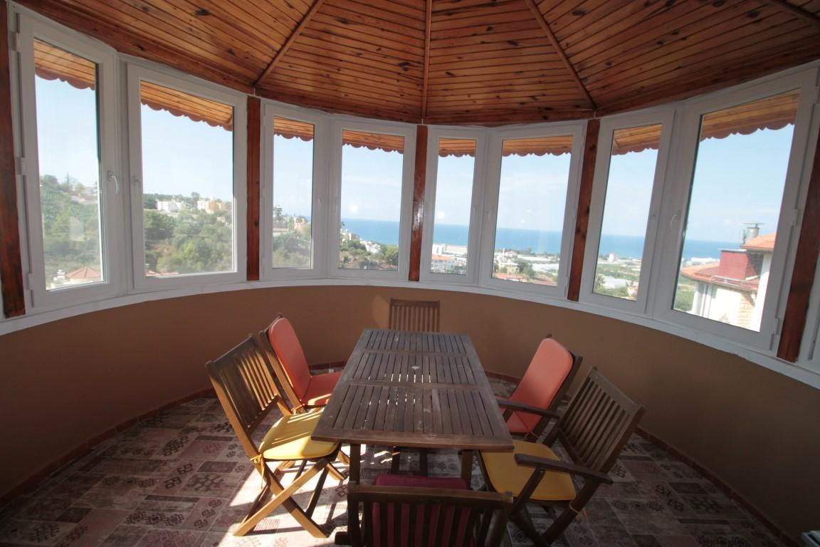 Меблированная вилла в комплексе в Каргыджаке - Фото 26