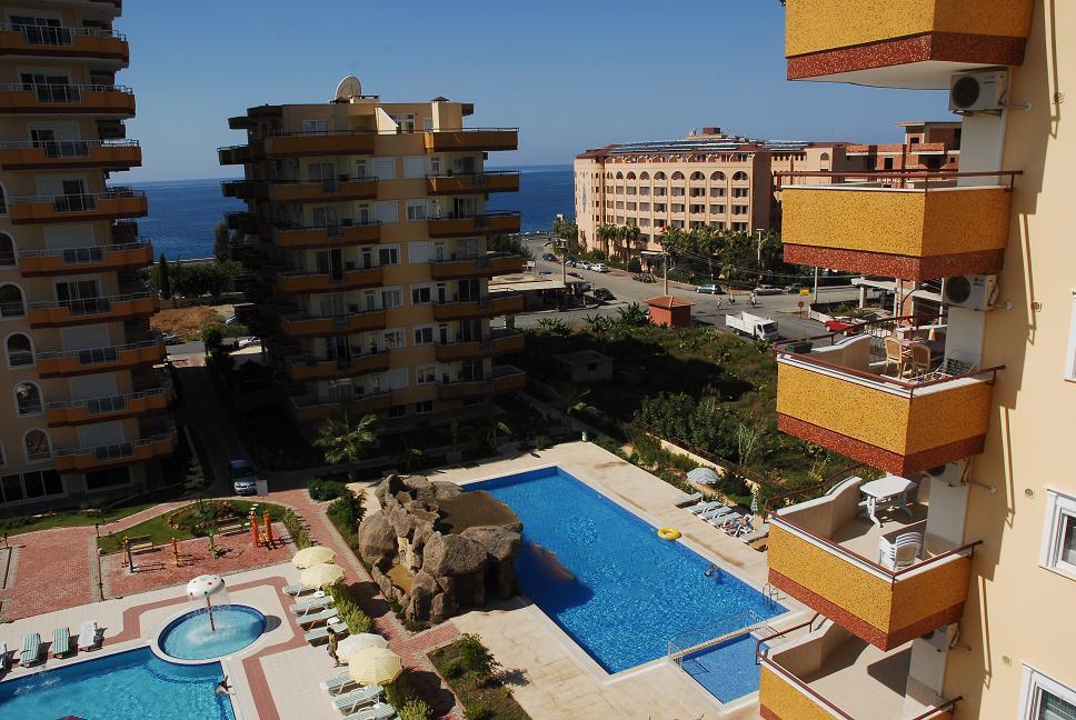 Двухуровневая квартира с тремя спальнями с панорамным видом на море в Махмутларе - Фото 10