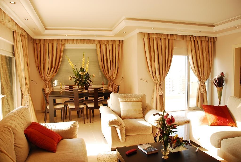 Двухуровневая квартира с тремя спальнями с панорамным видом на море в Махмутларе - Фото 15