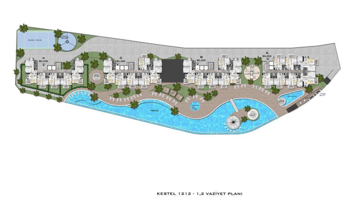 Новые апартаменты в люксовом комплексе в Кестеле - Фото 74