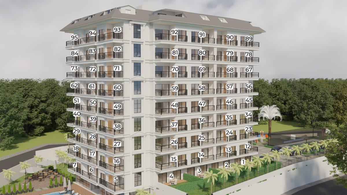 Апартаменты в ЖК премиум-класса в Авсалларе - Фото 21