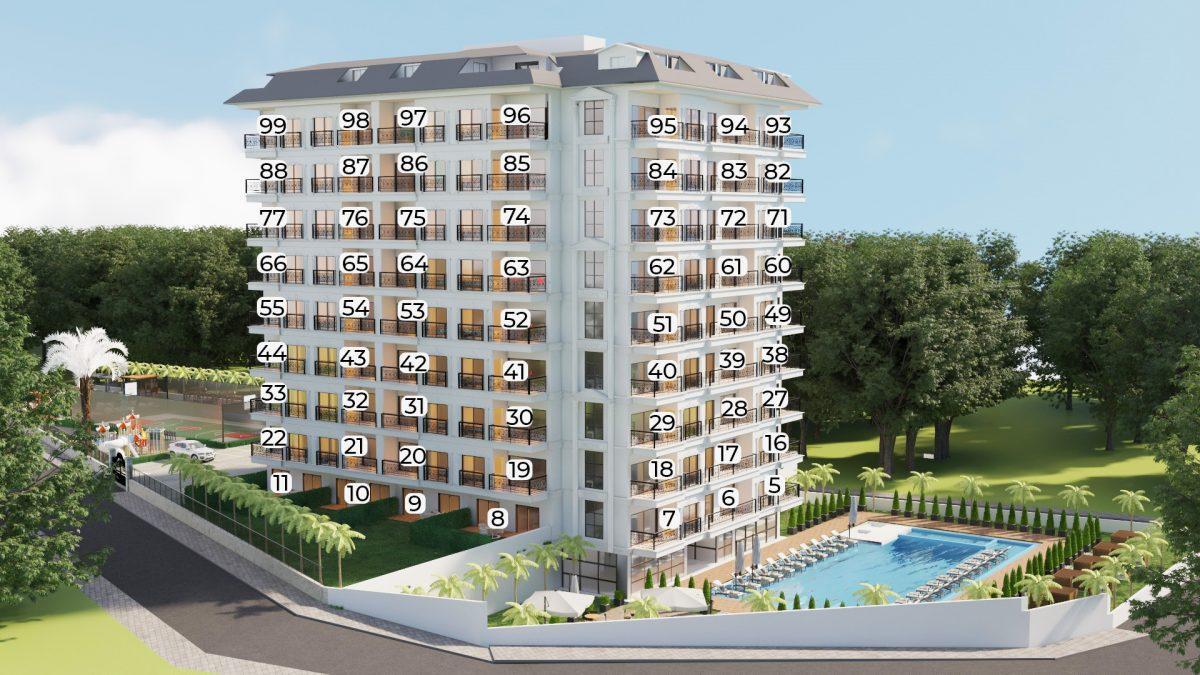 Апартаменты в ЖК премиум-класса в Авсалларе - Фото 22