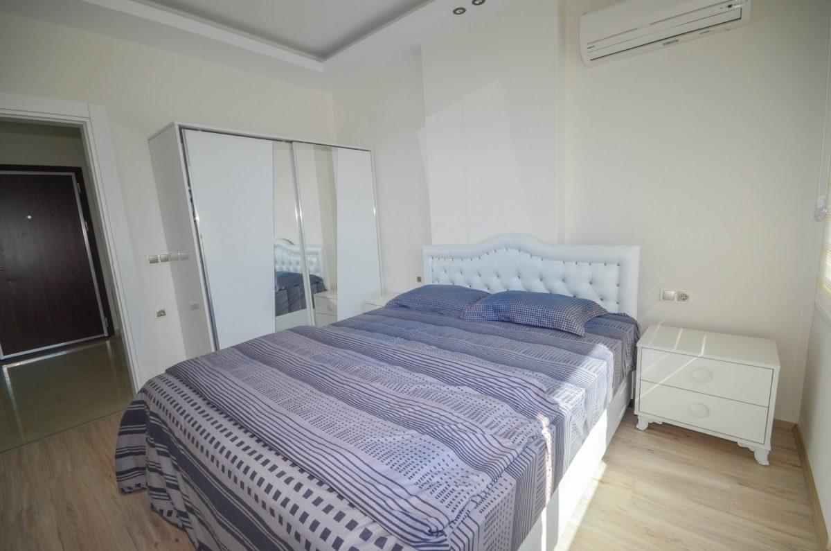 Меблированная квартира в комплексе с отельной инфраструктурой в Махмутлар - Фото 13