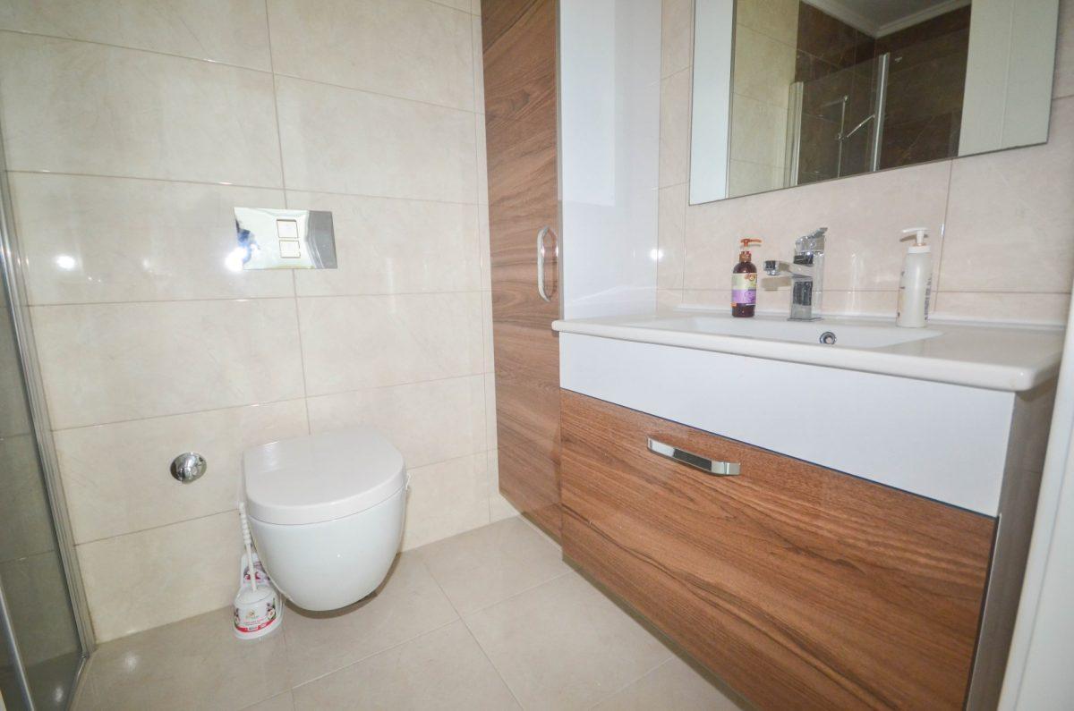 Меблированная квартира в комплексе с отельной инфраструктурой в Махмутлар - Фото 14