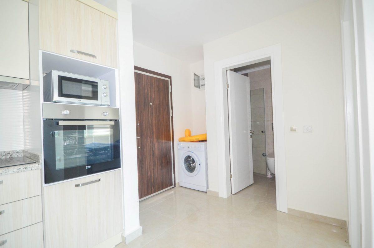 Меблированная квартира в комплексе с отельной инфраструктурой в Махмутлар - Фото 16