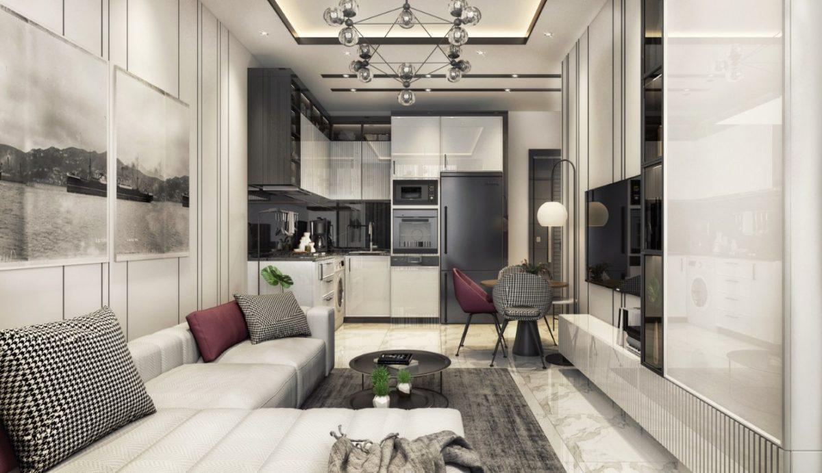 Новые апартаменты в центральном районе Аланьи - Фото 33