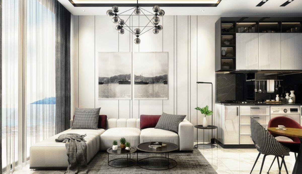Новые апартаменты в центральном районе Аланьи - Фото 35