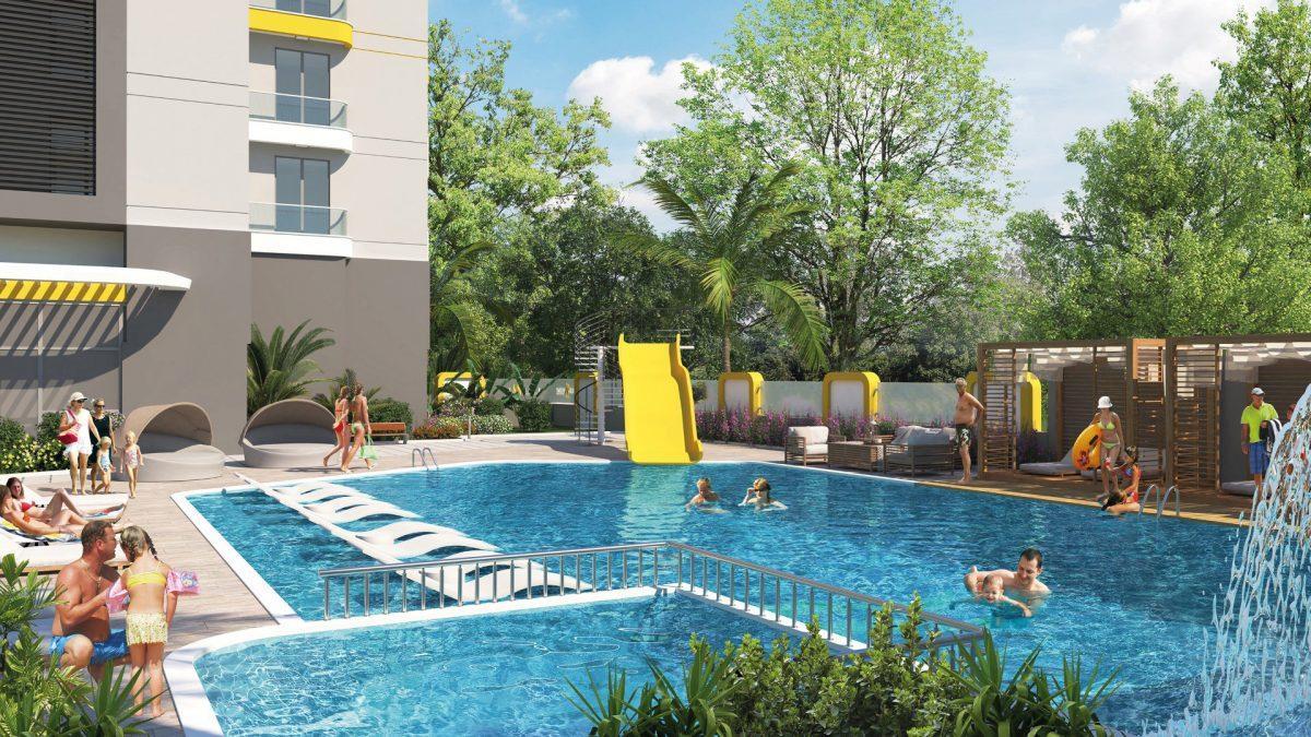 Квартиры в новом ЖК в центре Махмутлара - Фото 12