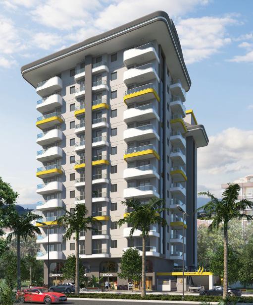 Квартиры в новом ЖК в центре Махмутлара - Фото 14
