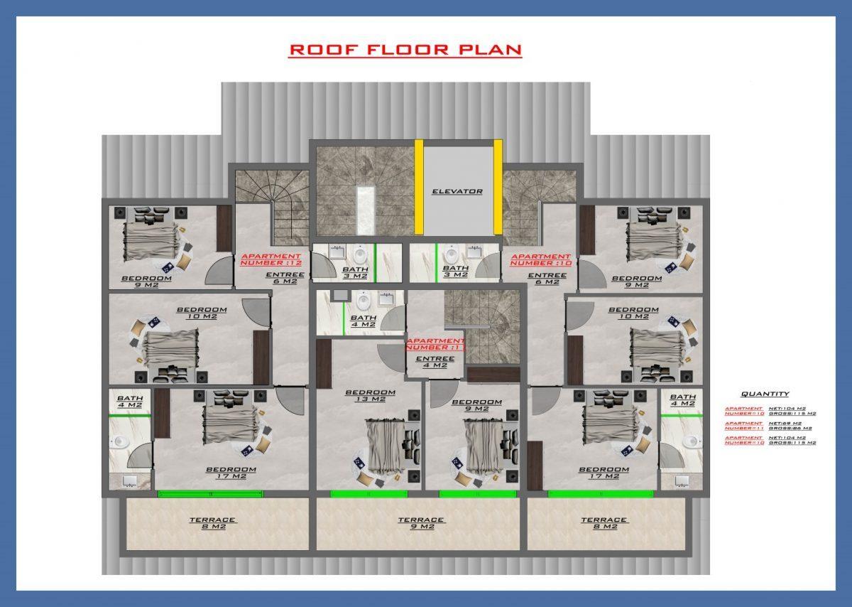 Апартаменты в новом ЖК в центре Кестеля - Фото 57