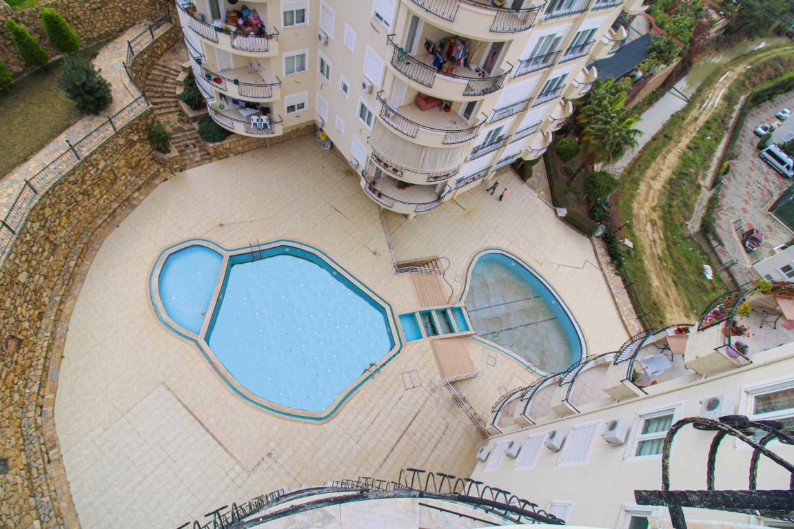 Квартира 1+1 с хорошим видом в Авсалларе - Фото 33