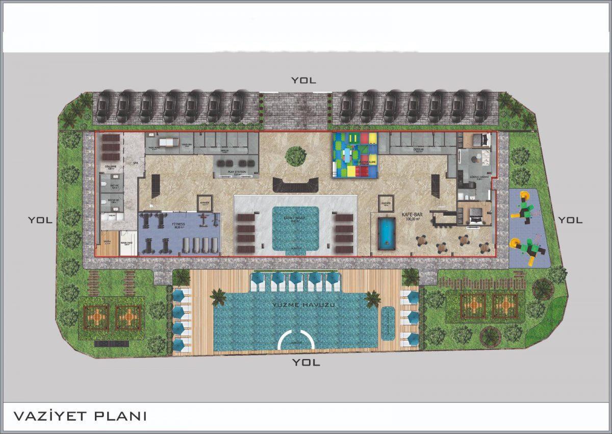 Новые апартаменты в центральном районе Аланьи - Фото 40