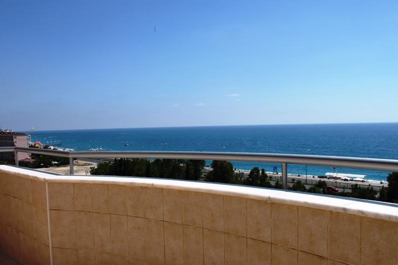 Пентхаус с видом на море рядом с пляжем в Махмутларе - Фото 31