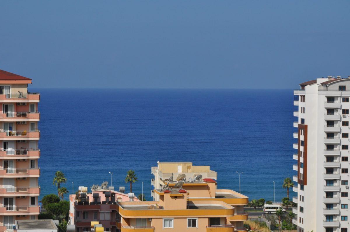 Меблированный пентхаус 4+1 в центре Махмутлара с видом на море - Фото 20