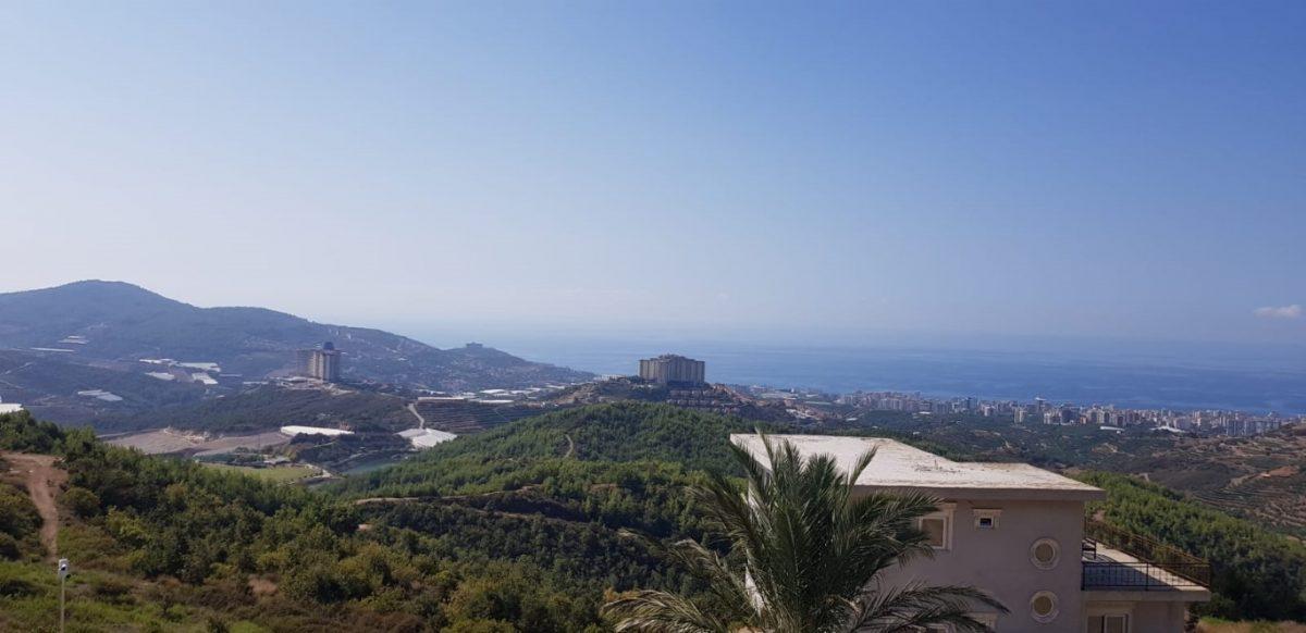 Новая вилла 4+1 с видом на море в Махмутларе - Фото 32