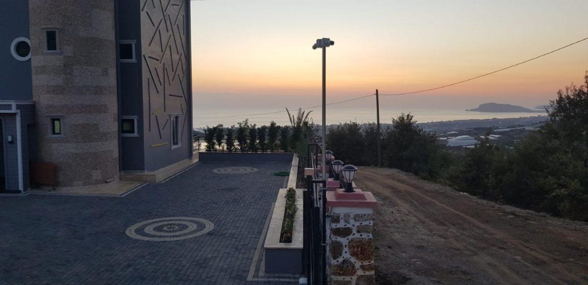 Новая вилла 4+1 с видом на море в Махмутларе - Фото 17