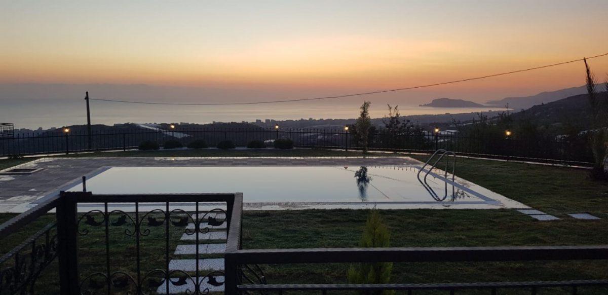 Новая вилла 4+1 с видом на море в Махмутларе - Фото 18