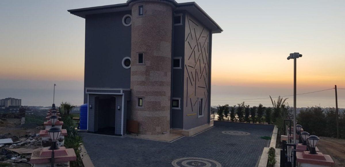 Новая вилла 4+1 с видом на море в Махмутларе - Фото 6