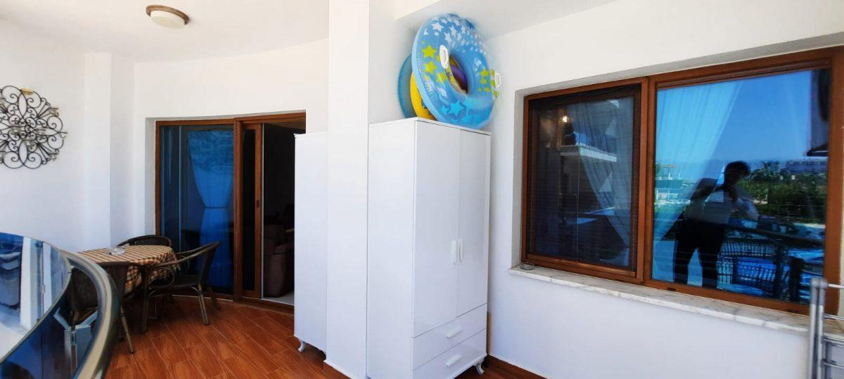 Апартаменты 1+1 в люксовом ЖК в районе Махмутлар 1800 метров до моря - Фото 7