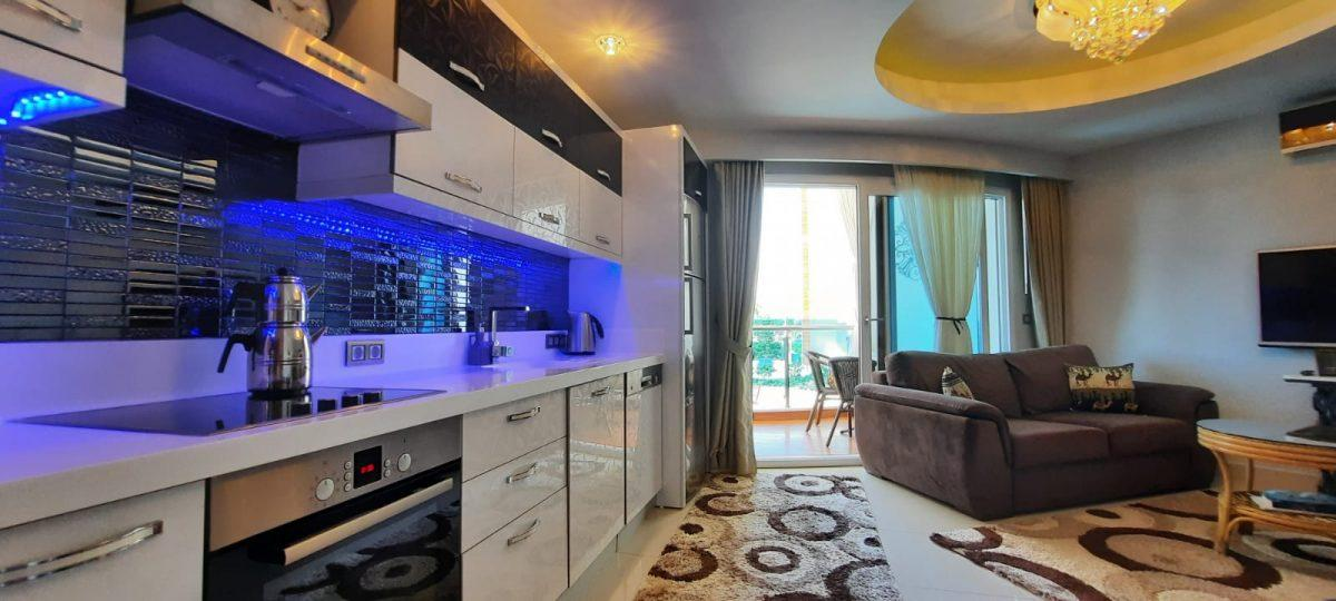 Апартаменты 1+1 в люксовом ЖК в районе Махмутлар 1800 метров до моря - Фото 11