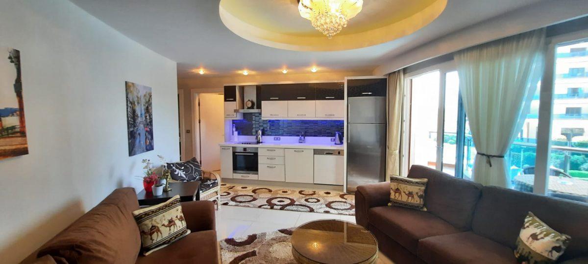 Апартаменты 1+1 в люксовом ЖК в районе Махмутлар 1800 метров до моря - Фото 14
