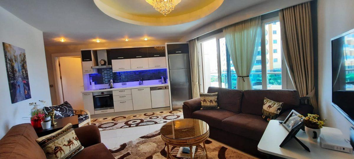 Апартаменты 1+1 в люксовом ЖК в районе Махмутлар 1800 метров до моря - Фото 15