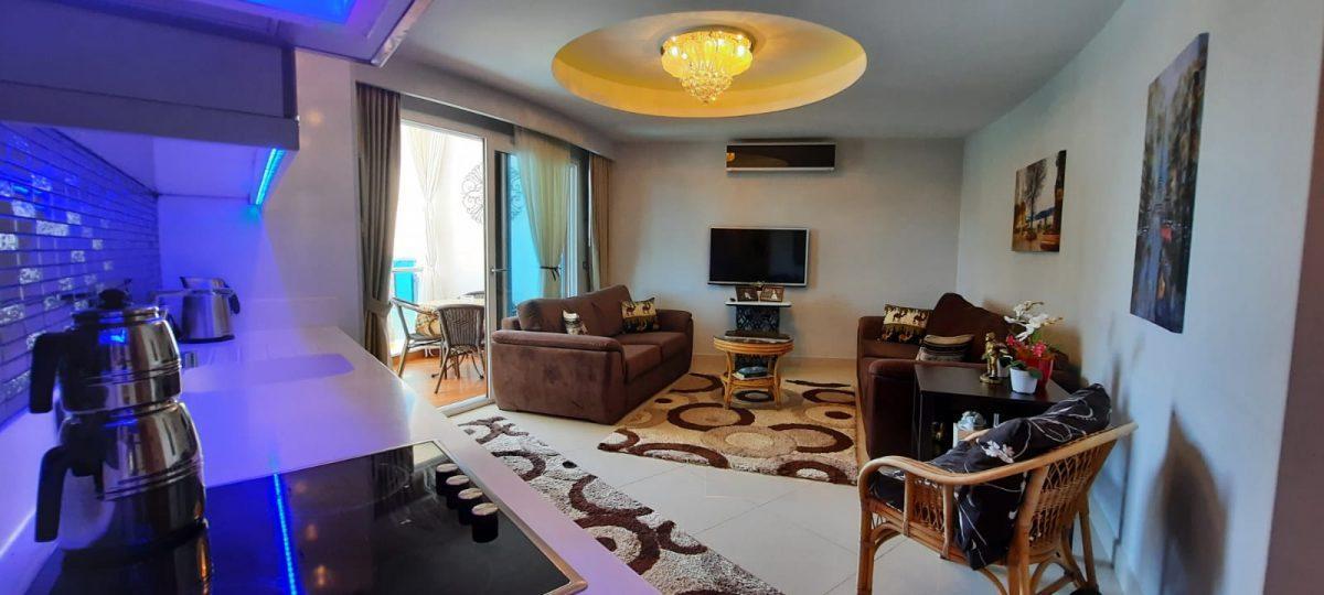 Апартаменты 1+1 в люксовом ЖК в районе Махмутлар 1800 метров до моря - Фото 17