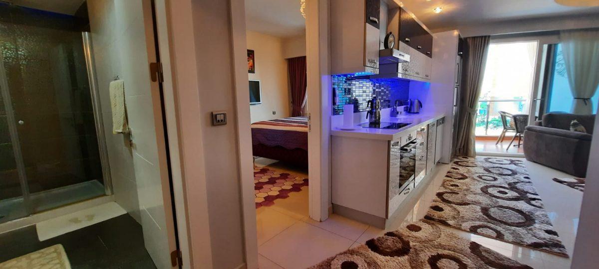 Апартаменты 1+1 в люксовом ЖК в районе Махмутлар 1800 метров до моря - Фото 18