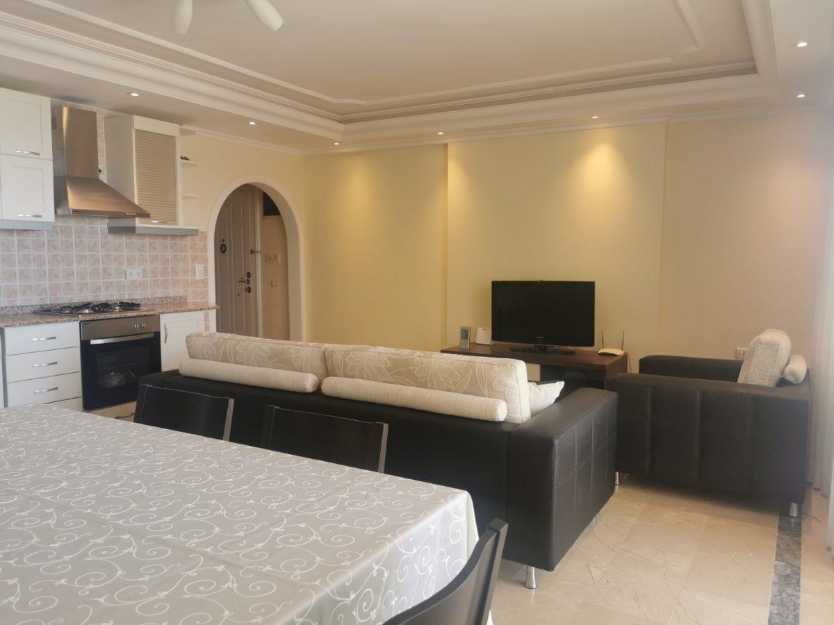 Меблированная квартира у подножия гор в Махмутларе - Фото 19