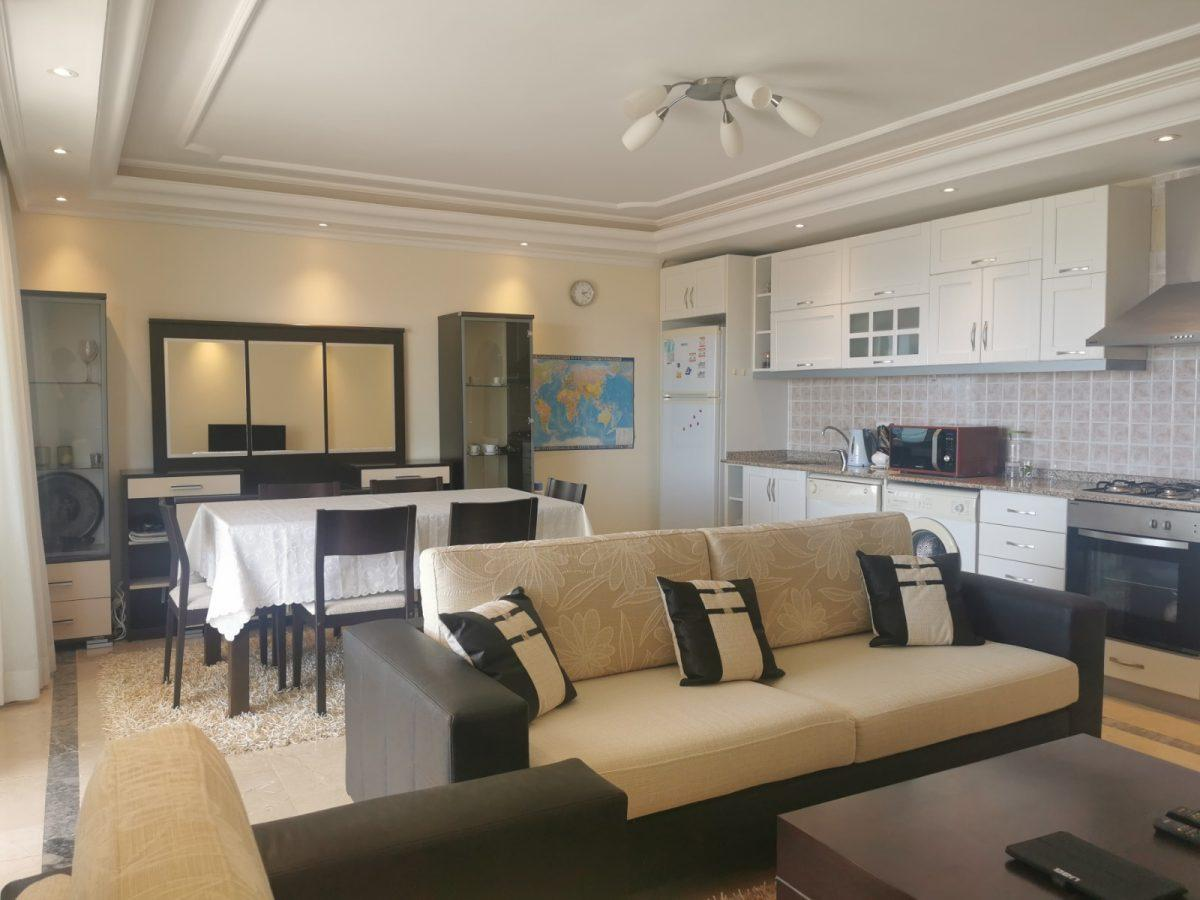 Меблированная квартира у подножия гор в Махмутларе - Фото 21