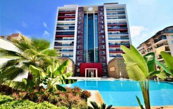 Удобные апартаменты 1+1 в Махмутлар