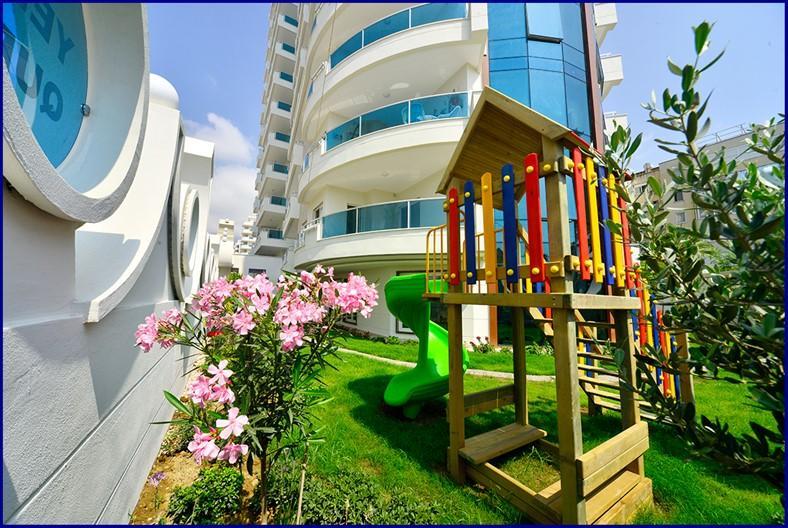 Стильные апартаменты 2+1 с панорамным видом  Махмутлар - Фото 32