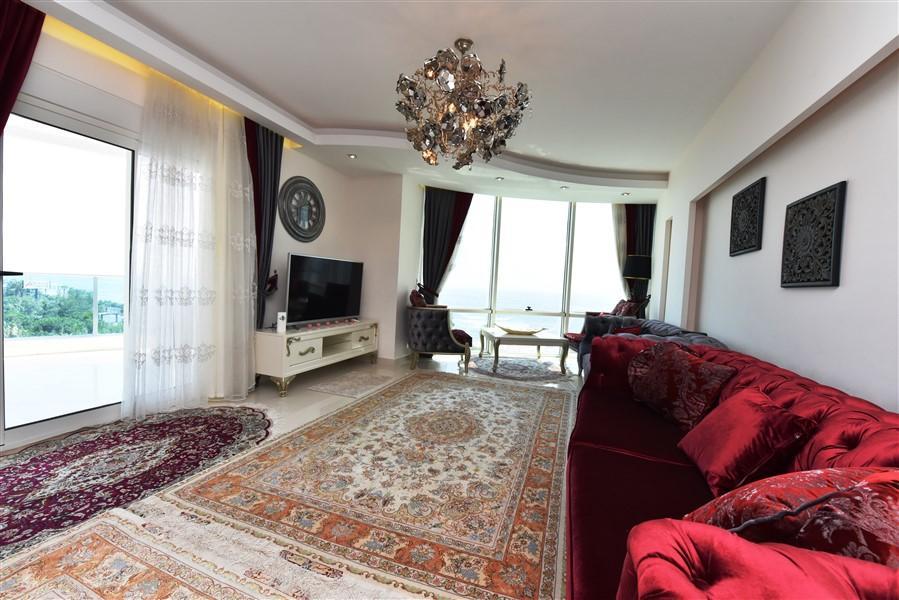 Стильные апартаменты 2+1 с панорамным видом  Махмутлар - Фото 7