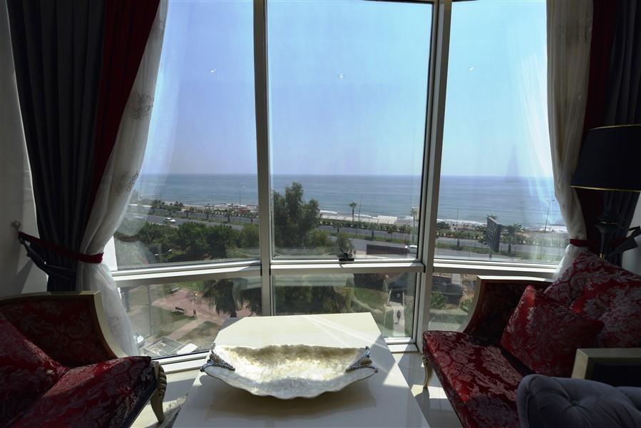 Стильные апартаменты 2+1 с панорамным видом  Махмутлар - Фото 9