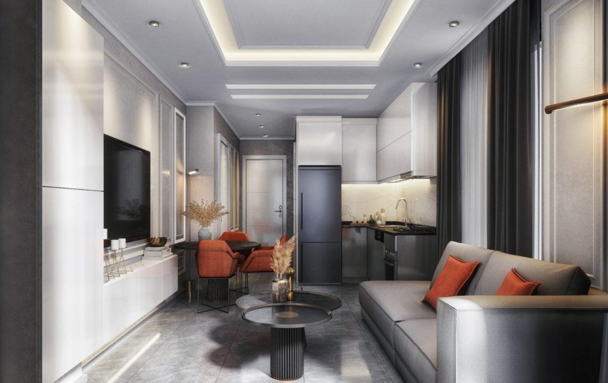Инвестиционные  апартаменты 2+1 Центре Алании - Фото 12