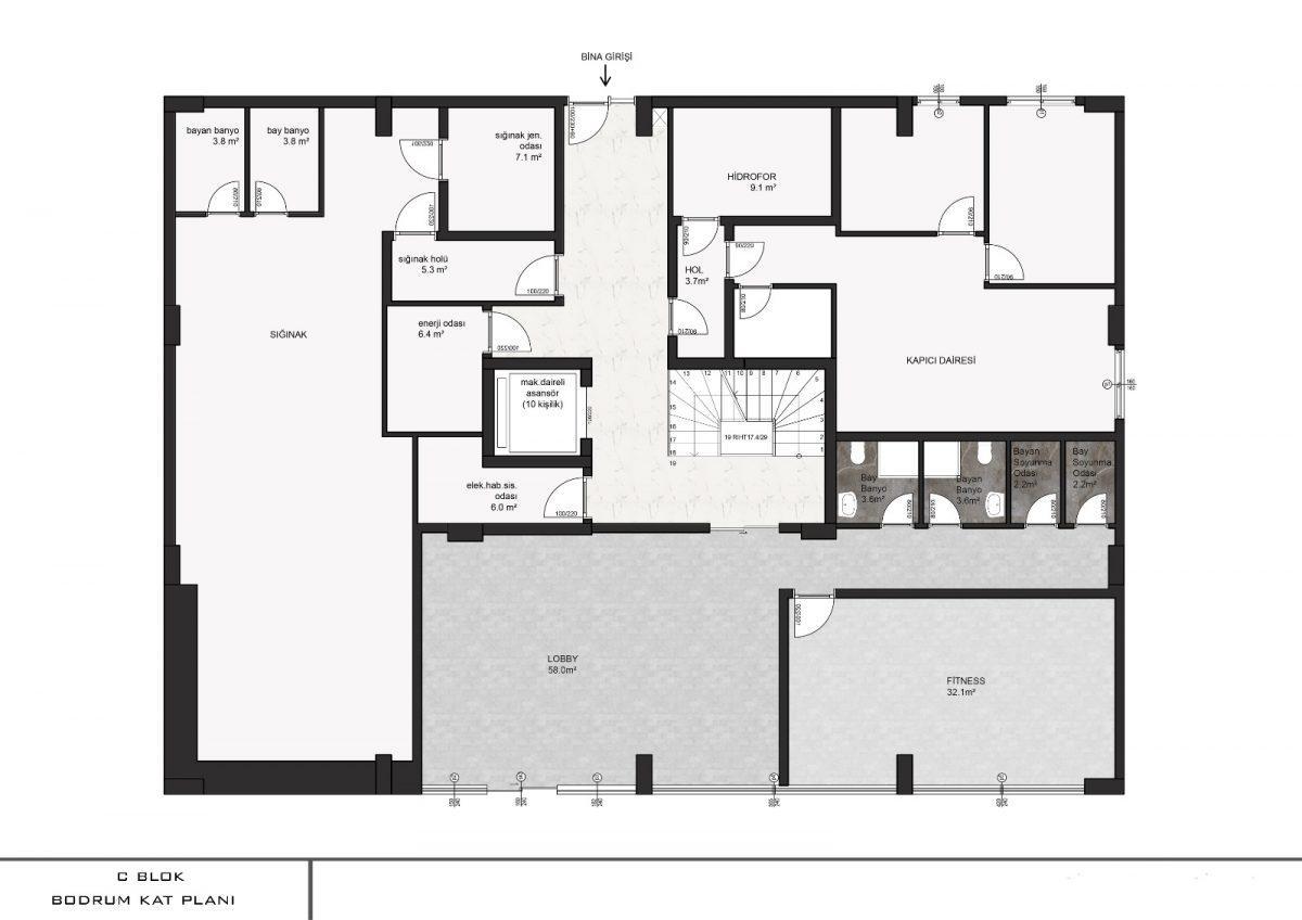 Апартаменты с отдельной кухней в новом ЖК в районе Оба - Фото 18