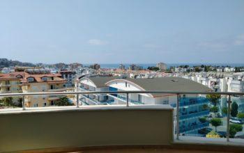 Квартира с видом на море в центре Авсаллара