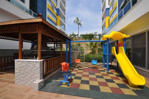 Меблированная квартир 1+1 в комплексе с хорошей инфраструктурой в Кестеле - Фото 28