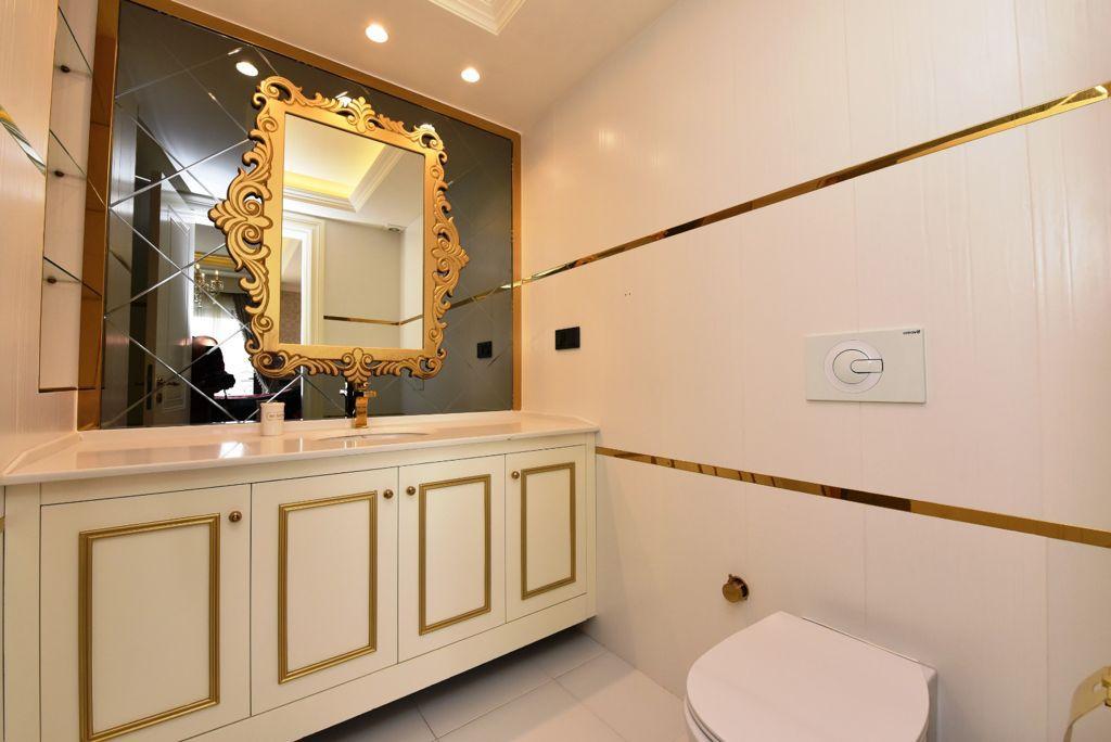 Меблированная квартира  2+1 в комплексе люкс класса  - Фото 10
