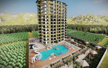 Квартиры в ЖК с аквапарком в Махмутларе