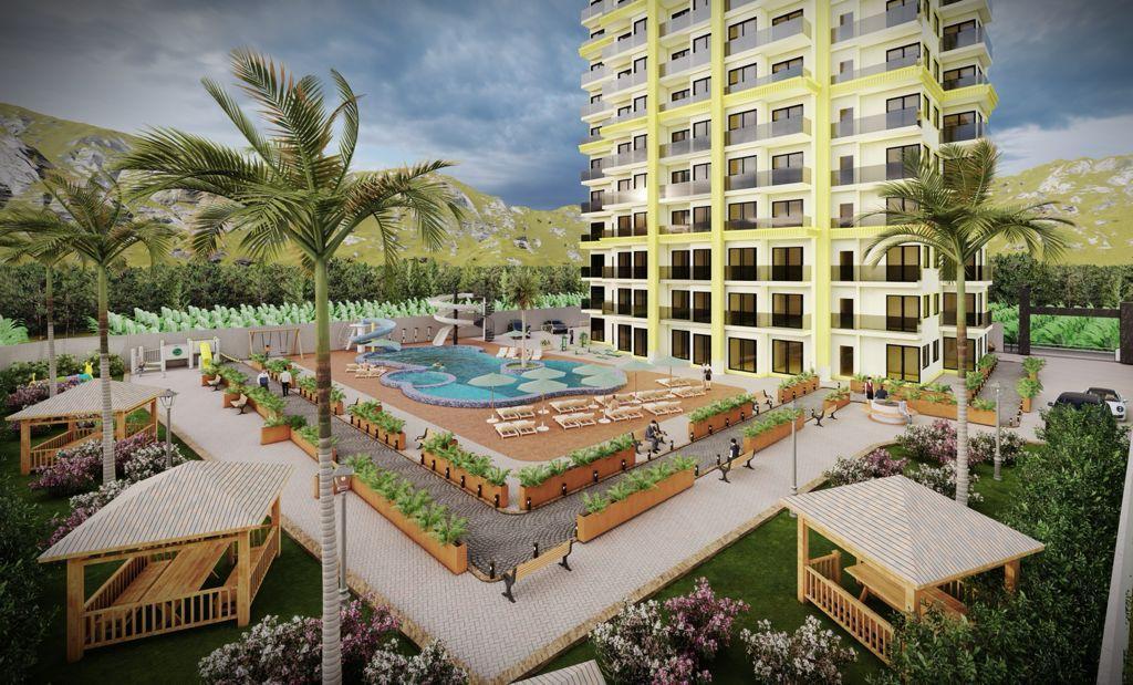 Квартиры в ЖК с аквапарком в Махмутларе - Фото 5