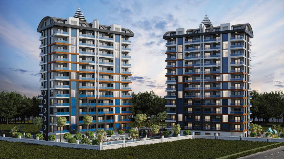 Стильные апартаменты  в Махмутлар - самом популярном туристическом центре Алании. - Фото 2