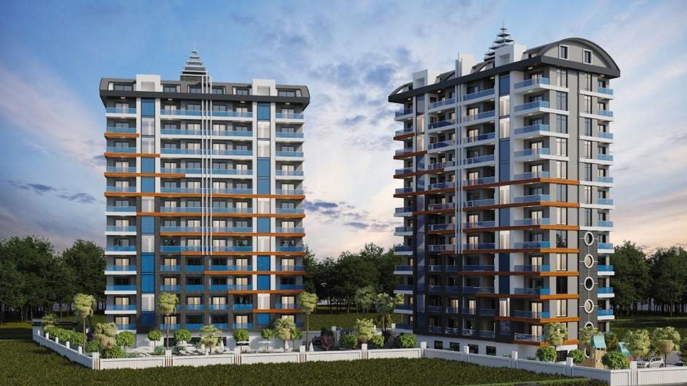 Стильные апартаменты  в Махмутлар - самом популярном туристическом центре Алании. - Фото 3