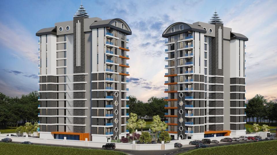 Стильные апартаменты  в Махмутлар - самом популярном туристическом центре Алании. - Фото 4