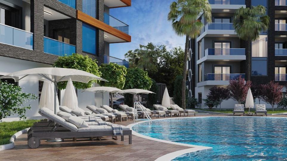 Стильные апартаменты  в Махмутлар - самом популярном туристическом центре Алании. - Фото 6