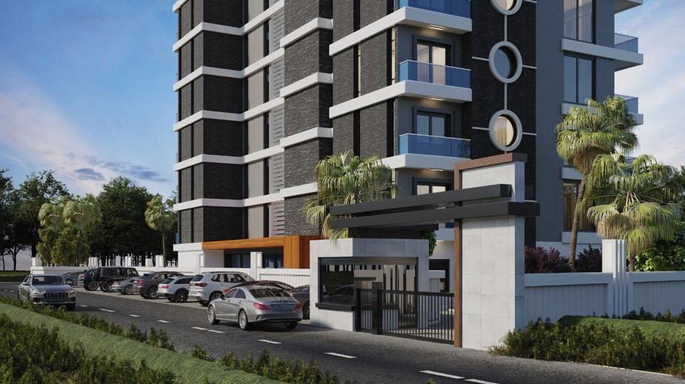 Стильные апартаменты  в Махмутлар - самом популярном туристическом центре Алании. - Фото 7