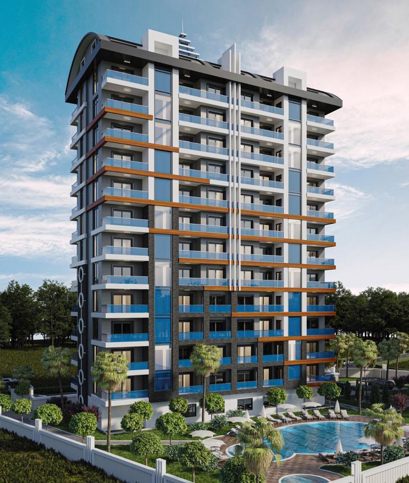Стильные апартаменты  в Махмутлар - самом популярном туристическом центре Алании. - Фото 8