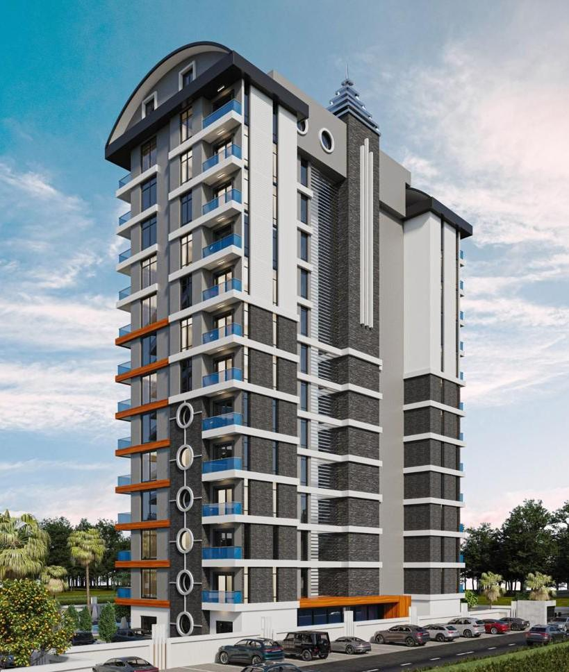 Стильные апартаменты  в Махмутлар - самом популярном туристическом центре Алании. - Фото 10