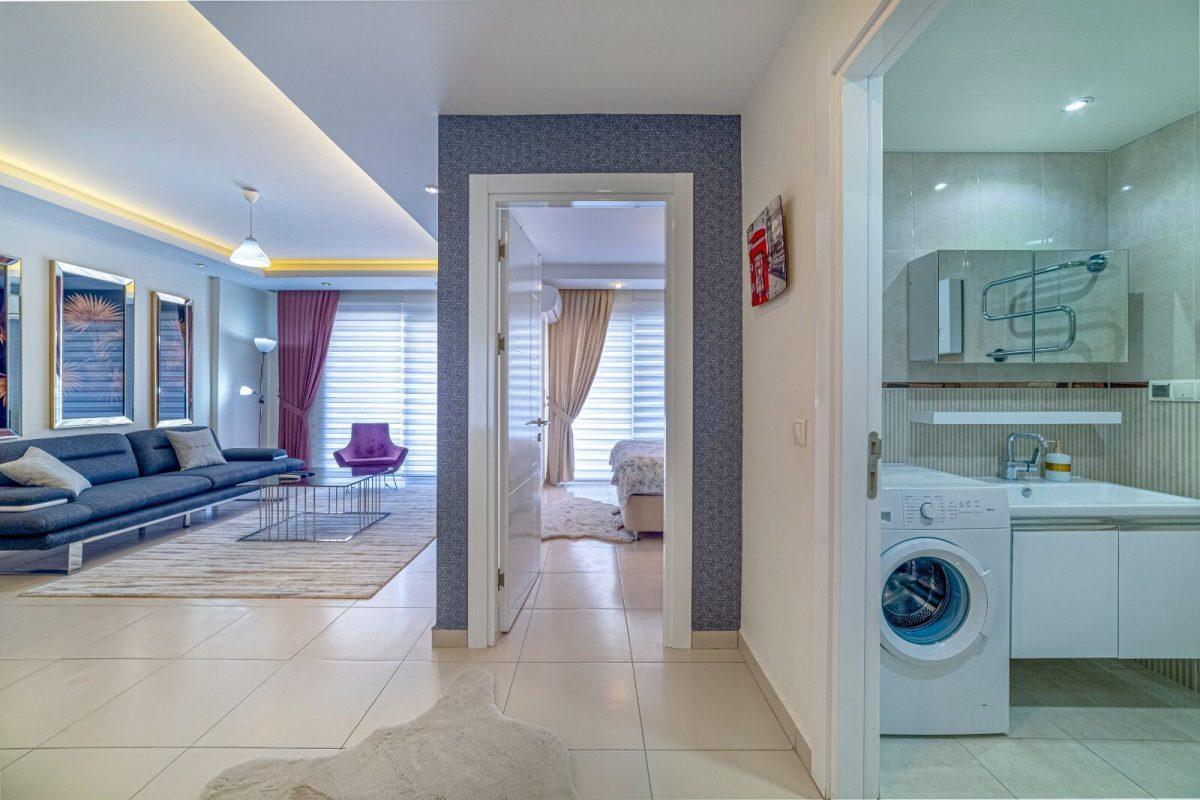 Уютная двухкомнатная квартира в комплексе люкс в аренду - Фото 12