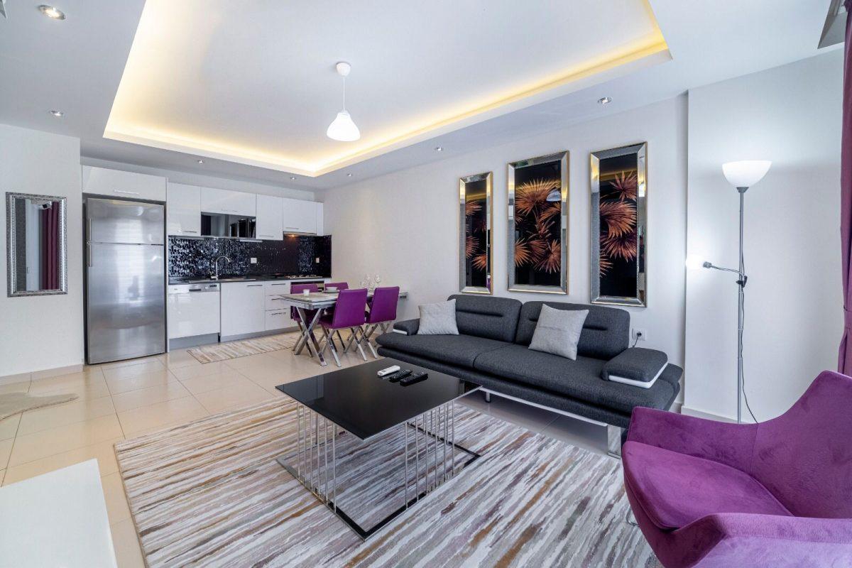 Уютная двухкомнатная квартира в комплексе люкс в аренду - Фото 14